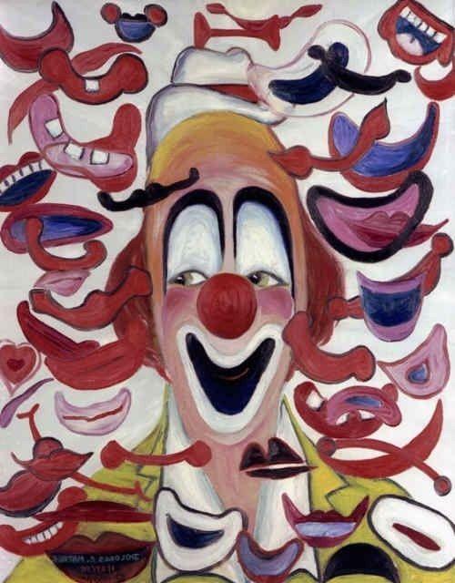 laugh clown laugh funny-pins