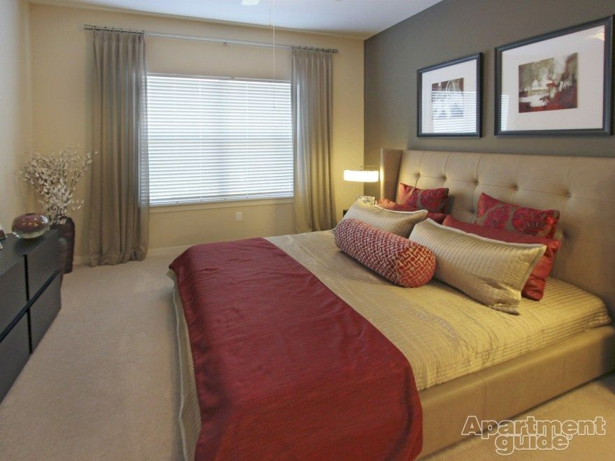 Bright Reds Make This #bedroom POP! | Vermella Lyndhurst » Http://