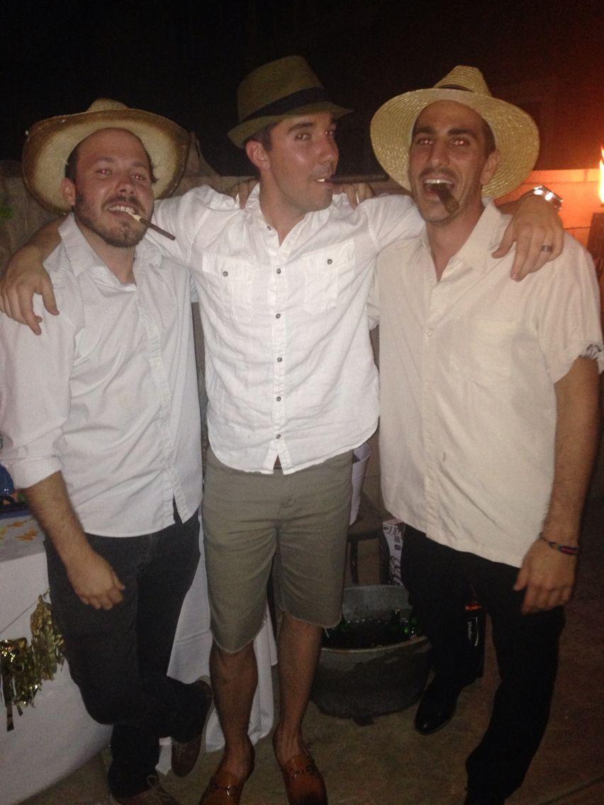 bb773ee32338f Fun Havana Nights theme attire party wear for 30th birthday ...