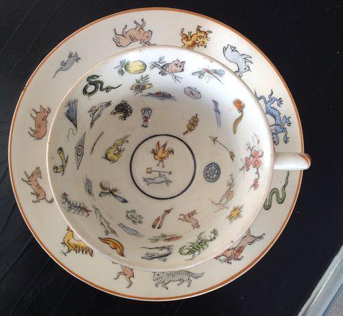 Fortune Telling Teacup Genevieve Wimsatt 1923
