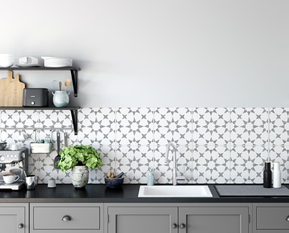 - Kitchen Backsplash Peel And Stick Roll - SKU:RT01 In 2020