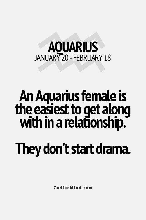 Avoid Drama Always Aquarius Aquarius Aquarius Horoscope