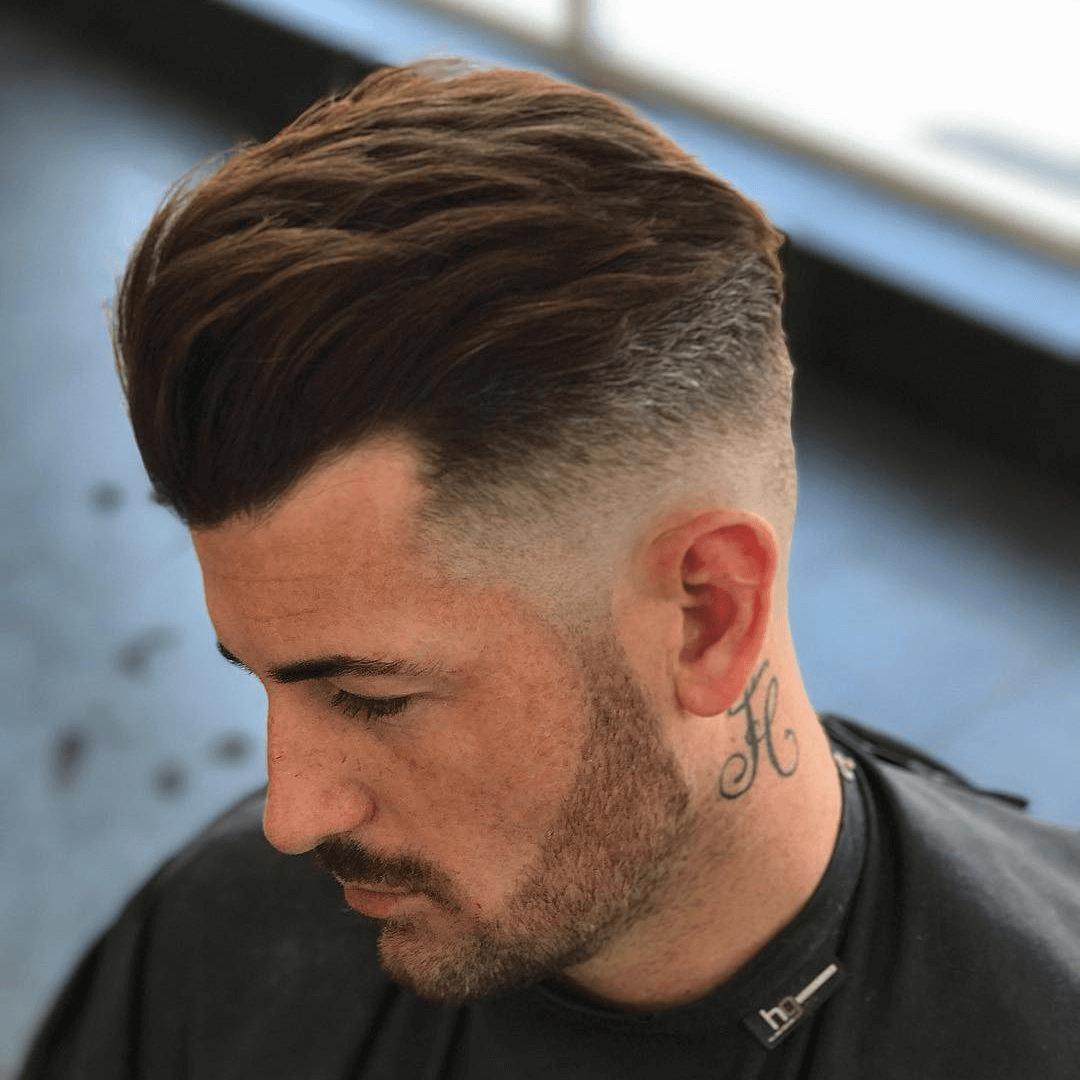 Herrenfrisur Fasson  Haarschnitt männer, Coole männer frisuren