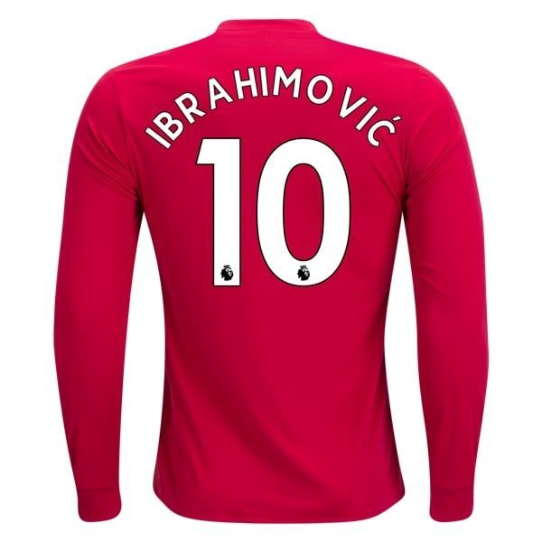 reputable site 2a967 d3eea adidas Zlatan Ibrahimovic Manchester United Long Sleeve Home ...