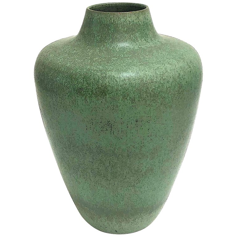 1stdibs Stoneware Hameln Floor Vase Delius Bauhaus German