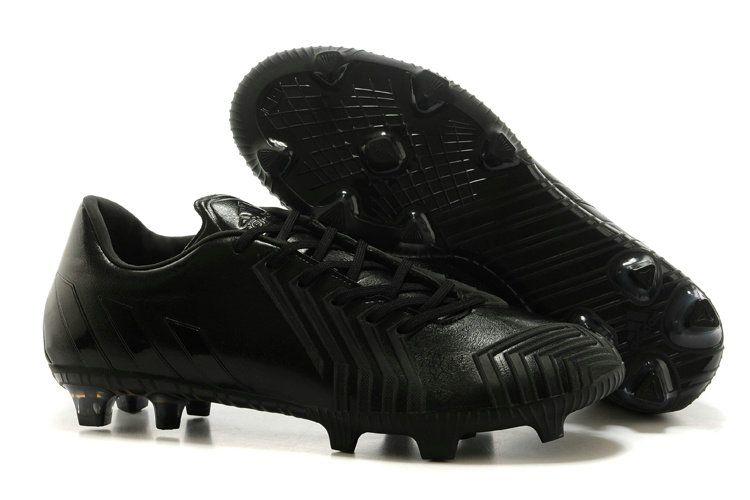 2018 World Cup adidas Predator Instinct FG Black Black  a93b793b4a3b