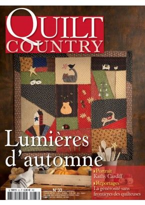 quilt country abonnement 1 an magazine book pinterest. Black Bedroom Furniture Sets. Home Design Ideas