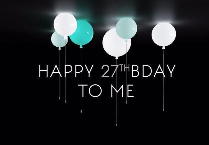 Alles Gute Zum 27 Geburtstag In 2020 27 Geburtstag Geburtstag