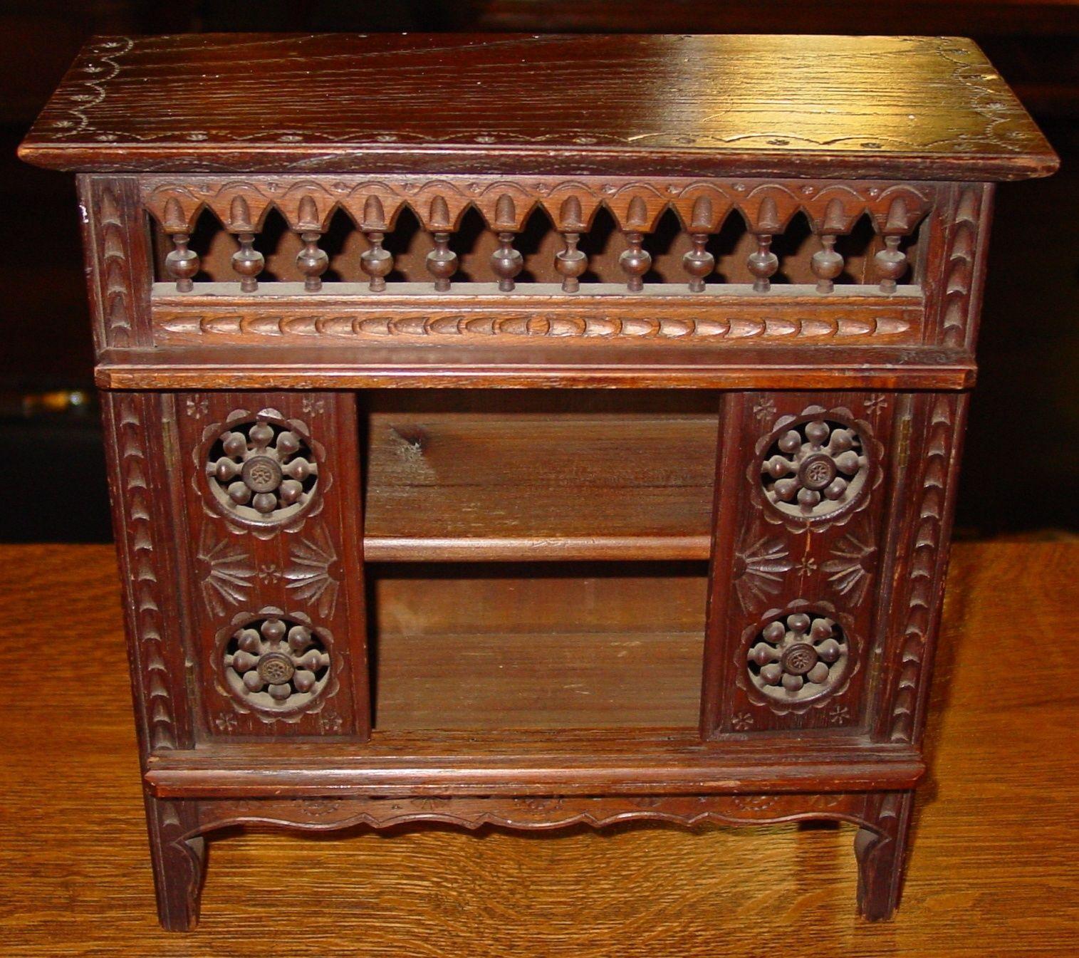 Late Victorian antique salesman sample cabinet-detailed precise workmnship-15033 | eBay