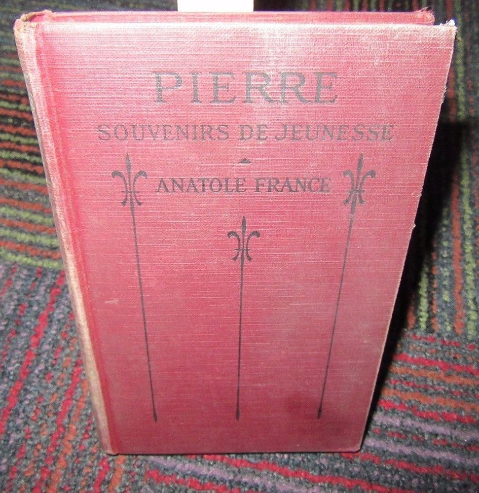 Details about PIERRE SOUVENIRS DE JEUNESSE PAR ANATOLE