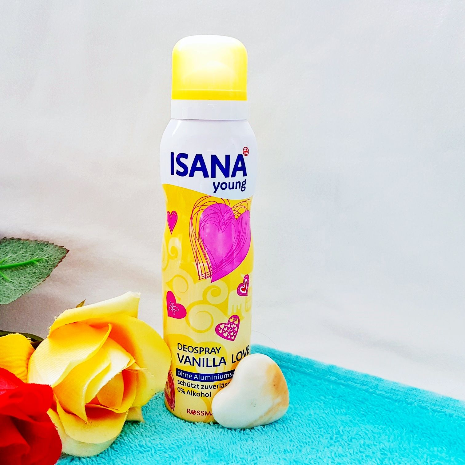 Isana Young Deospray Vanilla Love