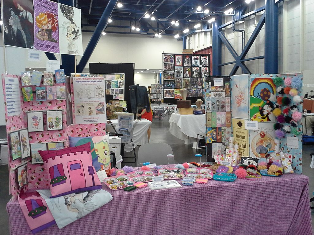 Anime Expo Stands : Comicpalooza by chrislea on deviantart convention