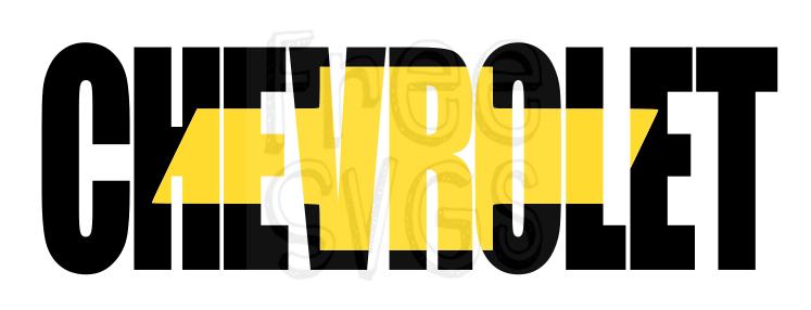 Free Chevrolet Bow Tie Emblem Svg File For Cricut Svg File Svg