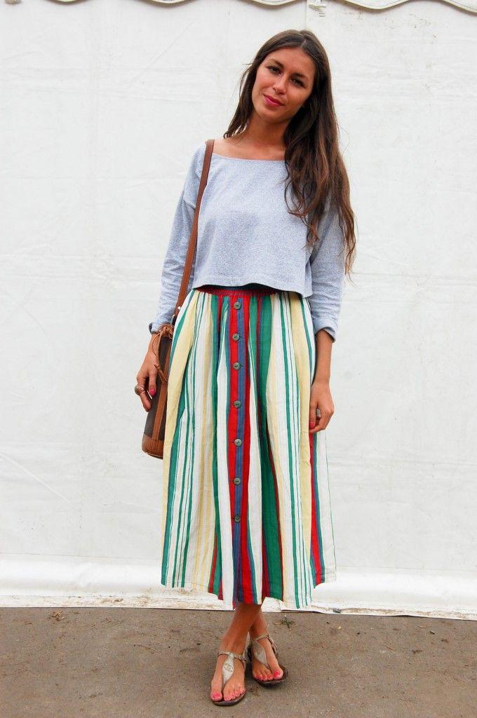 1000  images about M I D I S K I R T S on Pinterest | Skirts, Long ...