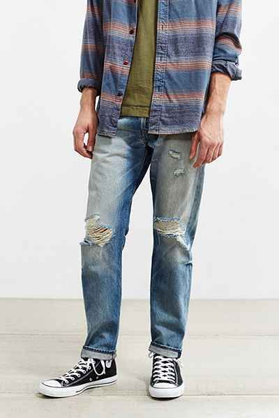 Levi's 501 Custom Tapered Sonoma Repair Jean | Levis, Urban and ...