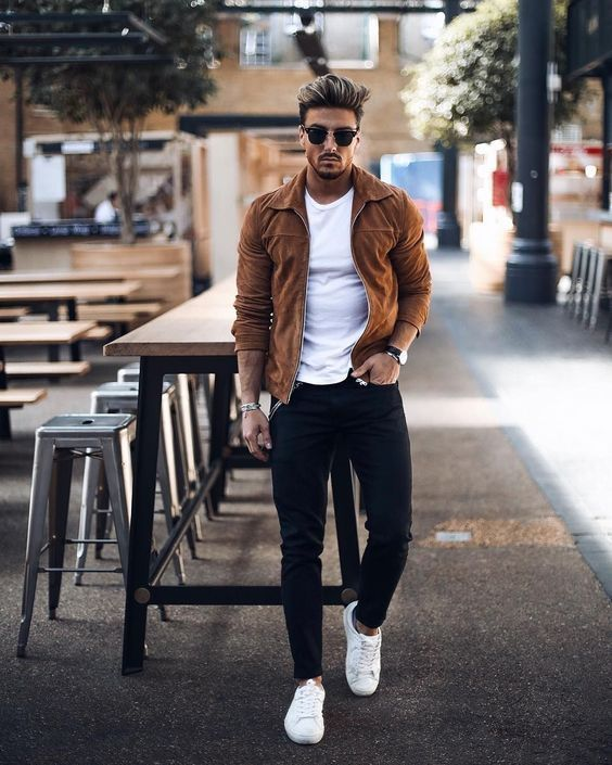Mens streetwear fashion outfit