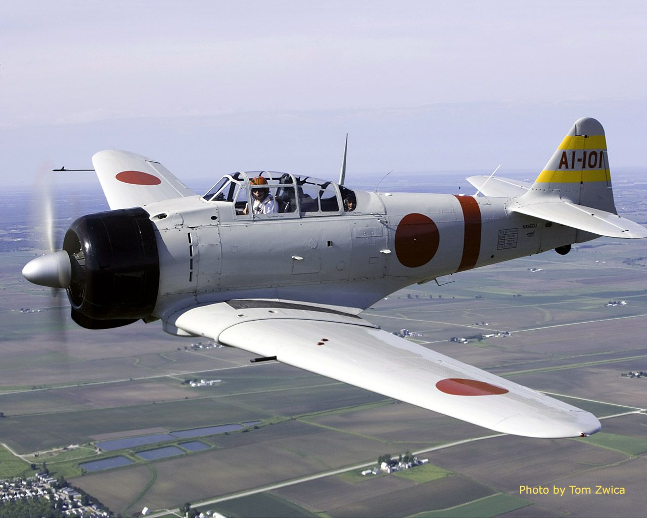 "mitsubishi a6m zero. the a6m is universally known as the ""zero"" from"