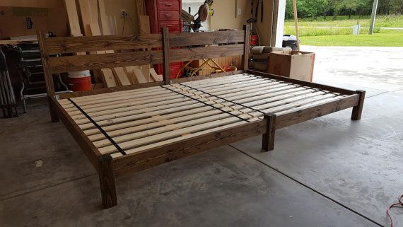 Family Bed Extra Large Bed Platform Bed Bed With Headboard Custom Bed Shared Bed Family Bed Large Beds Custom Bed