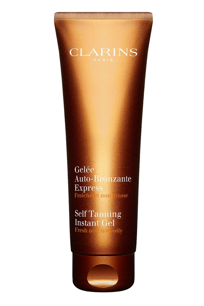 Clarins self tanning gel for the on the go gal