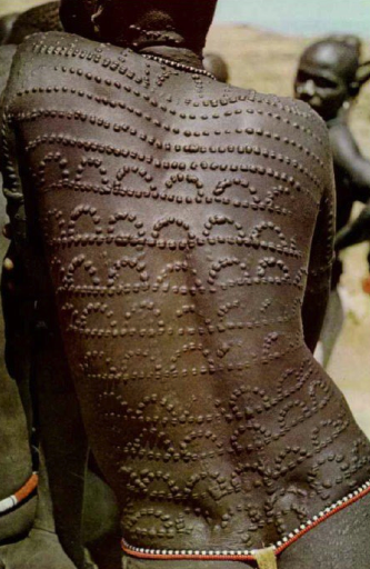 Painful and beautiful. Scarification and Cicatrisation. #scars #tattoo #skin