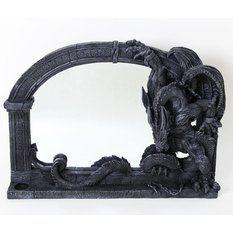 zrcadlo Poly Gothic Dragon
