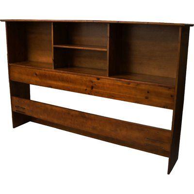 Red Barrel Studio Gordon Bookcase Headboard Size Full / Queen
