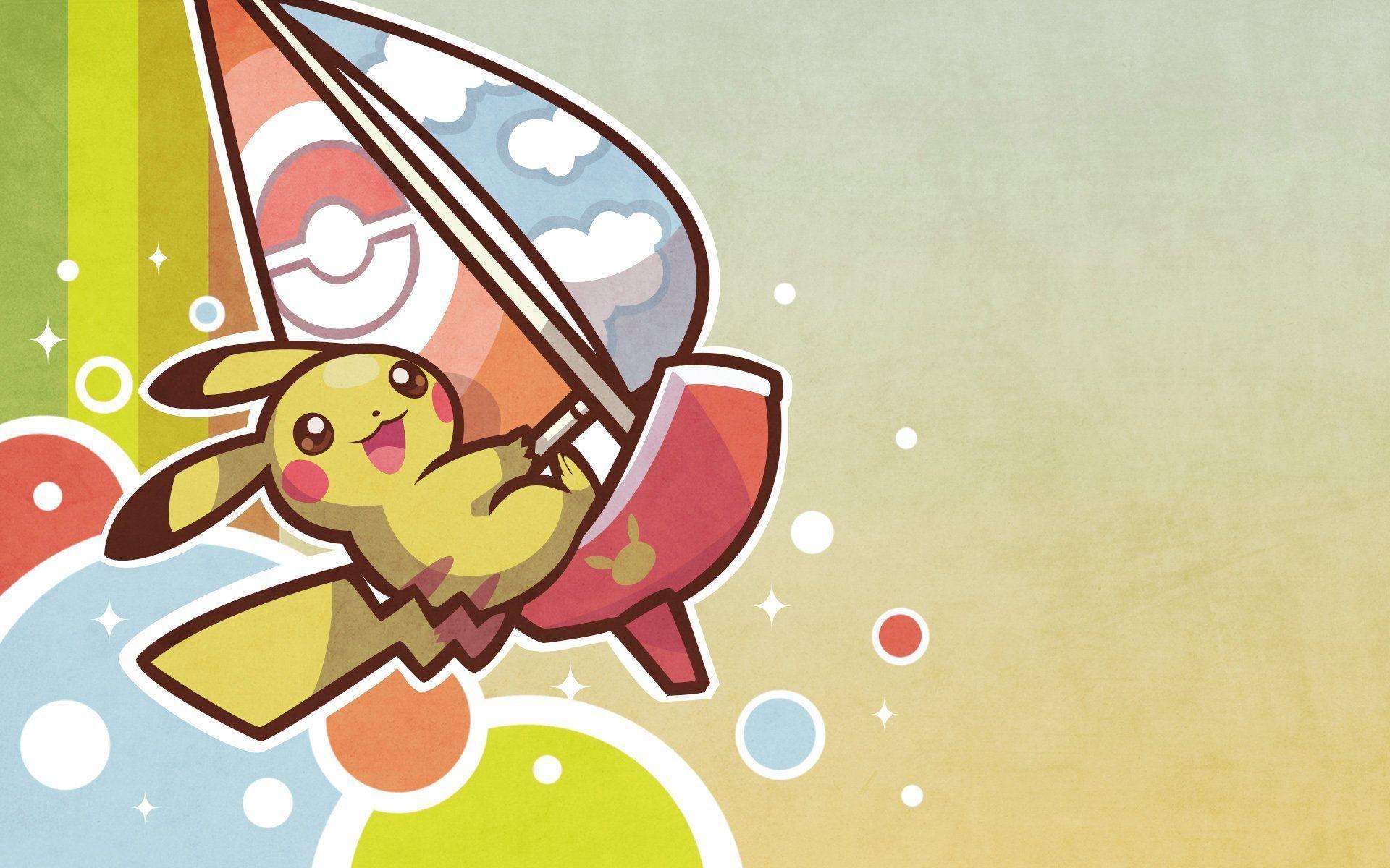 Pokemon Pikachu Wallpaper Background for Desktop 1920x1200