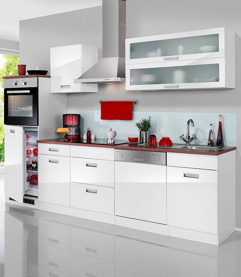 Faszinierend Küchenzeile Mit Geräten Referenz Von Held MÖbel Küchenzeile E-geräten »fulda, Autarken Elektrogeräten,