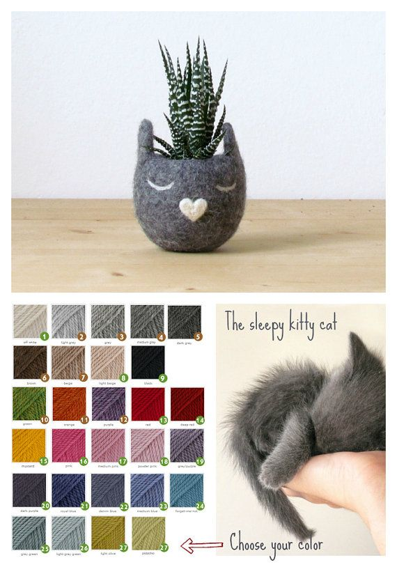 Ubiquitous cats by Helen and Marina on Etsy