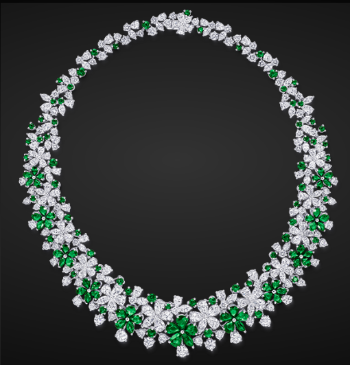 Emerald Amp Diamond Necklace By Graff Necklaces Jewelry