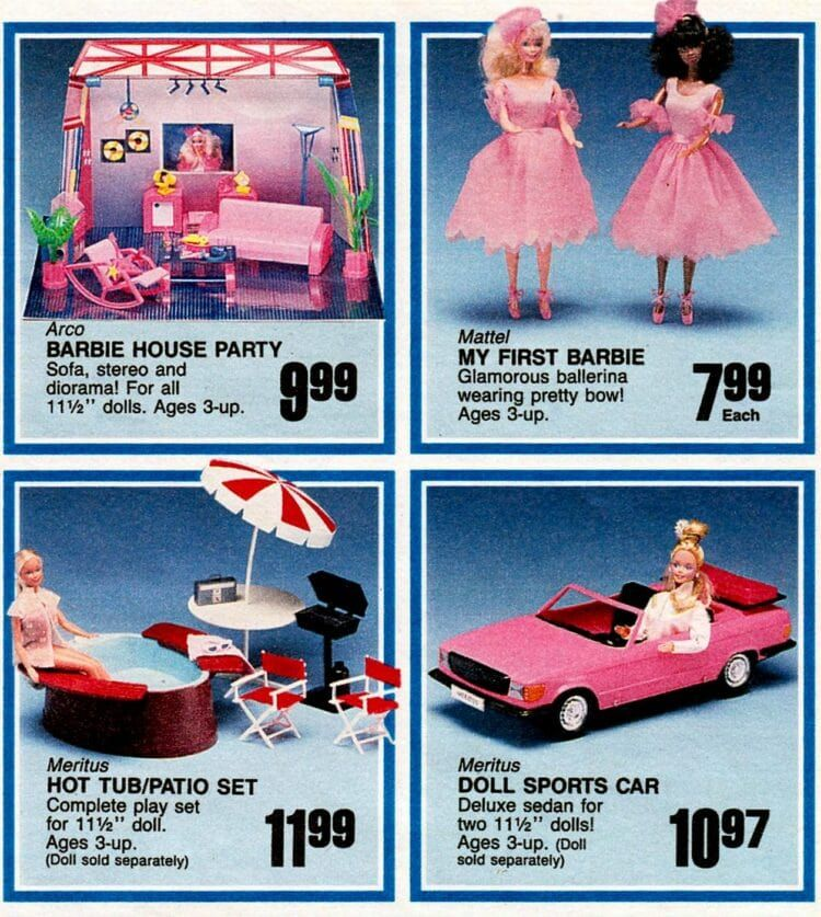 Barbie and beyond: Vintage Barbie & Ken dolls, friends, dollhouses, accessories and fashions from the '60s, '70s & '80s - Click Americana