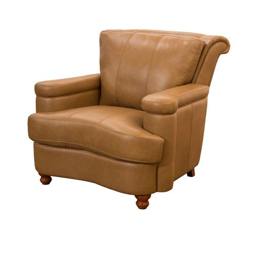 Found It At Wayfair   Heathridge Top Grain Leather Club Chair