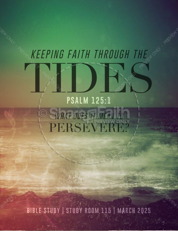 Faith Through Tides Christian Flyer Easter Flyer Templates - christian flyer templates