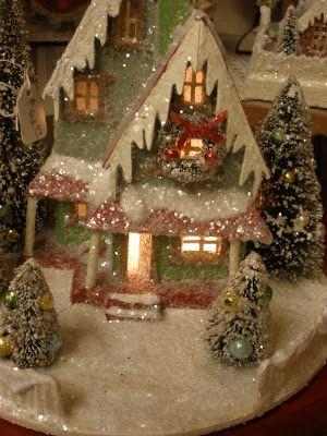 Pin On Whitmanville Christmas Village