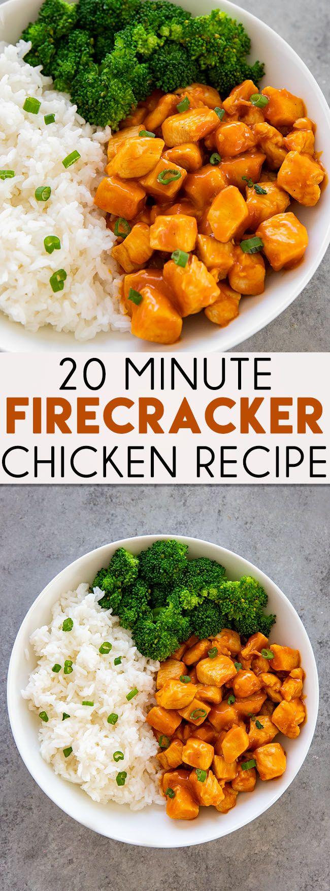 20 Minute Firecracker Chicken images