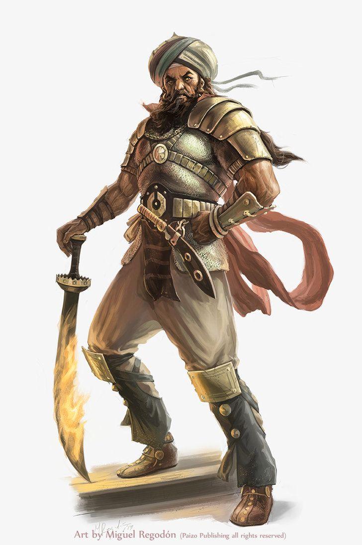 Hakesh - Capitão do bando do falcão