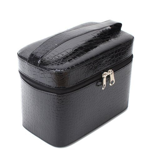 Yesurprise Portable Black Snake Skin Cosmetic Makeup Beauty Case Purse Toiletry Bag Gift by Yesurprise. $18.50. Suitable for professional use or home use. Please note:The Real Item's Color which you receive maybe vary from the listing picture because of different Camera lens, and different light environmental. Thanks for your understanding!