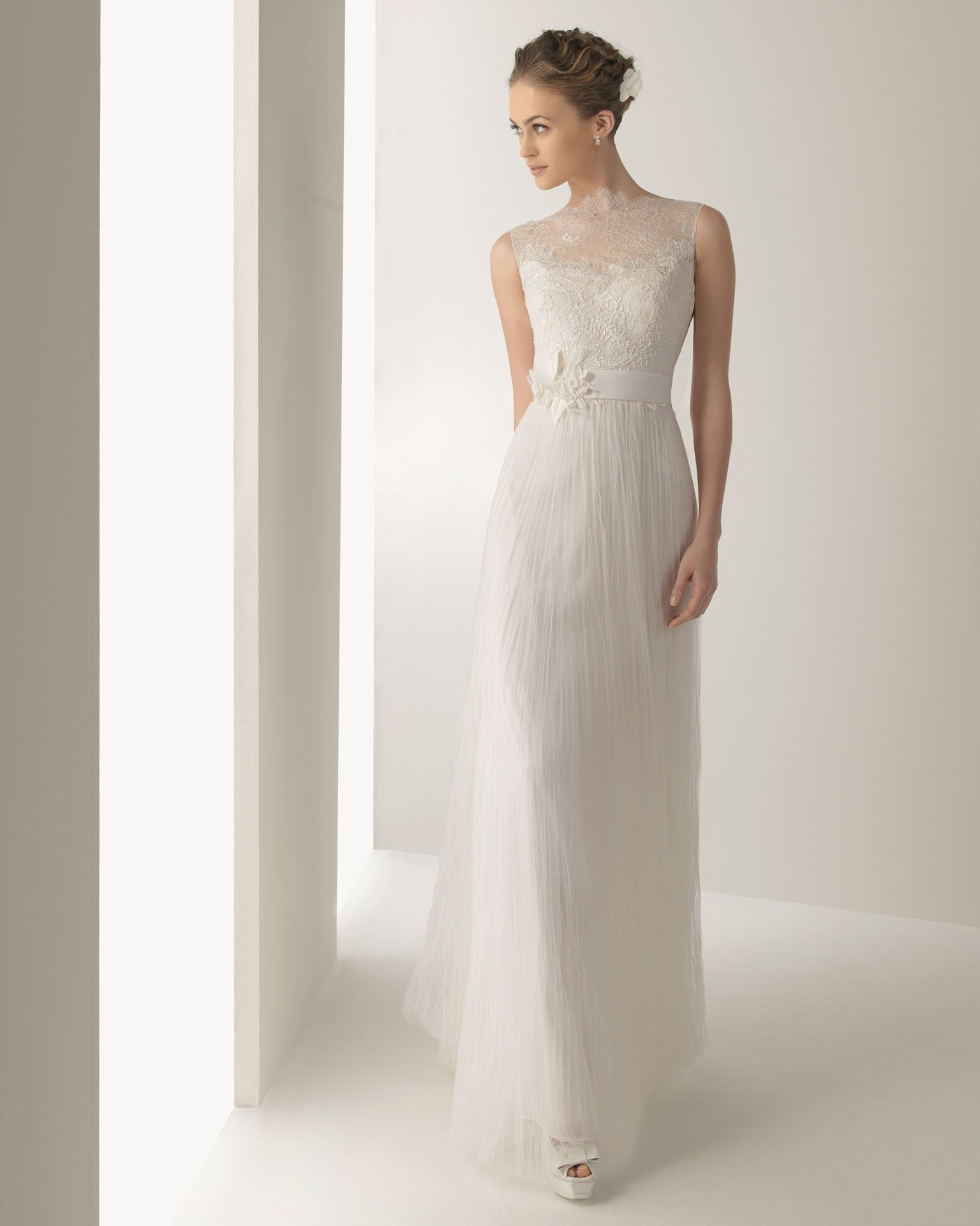 SOFT BY ROSA CLARÁ COLLECTION 2013 Wedding Dress And Petite Bride - Column Sheath Wedding Dresses