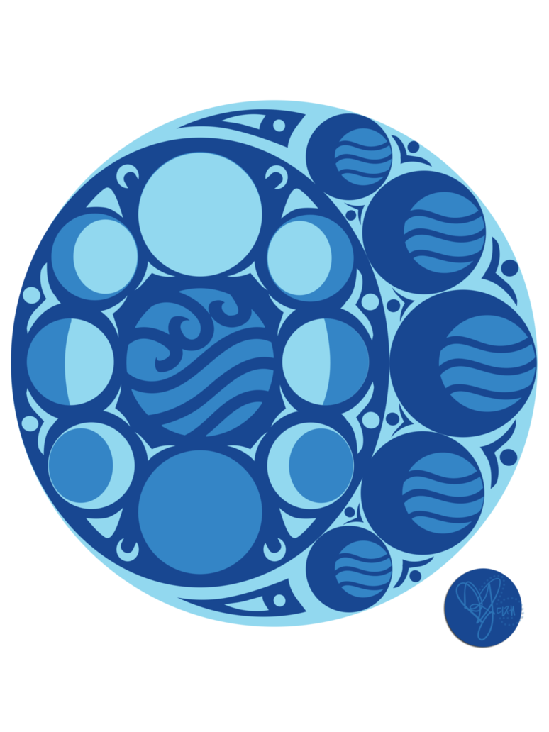 Water tribe nouveau by wingsfordreams on deviantart avatar the so my avatar nouveau project has taken a different turn and im redoing the ones ive already done to match the four nations symbols and pa biocorpaavc Image collections