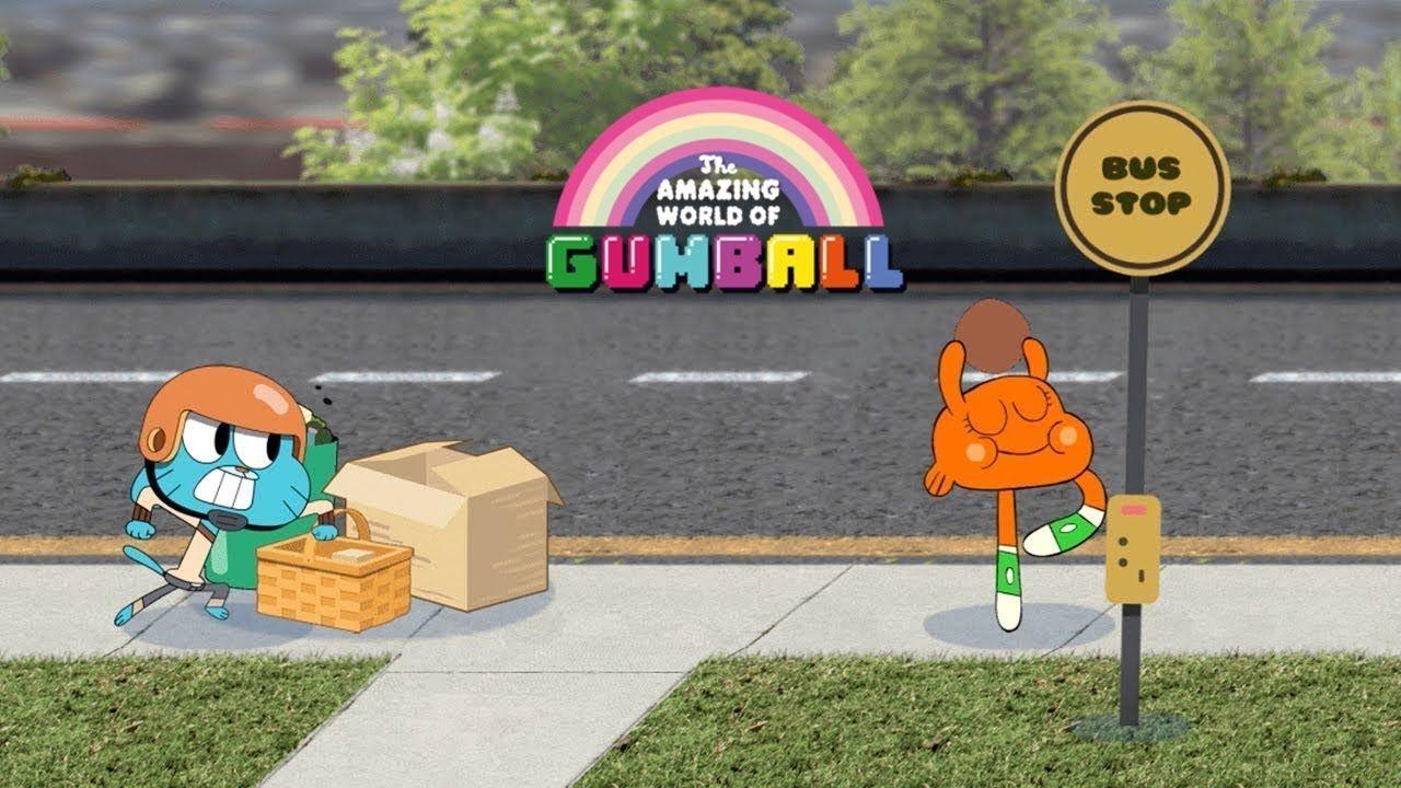 The Amazing World of Gumball Go Long! Cartoon Network
