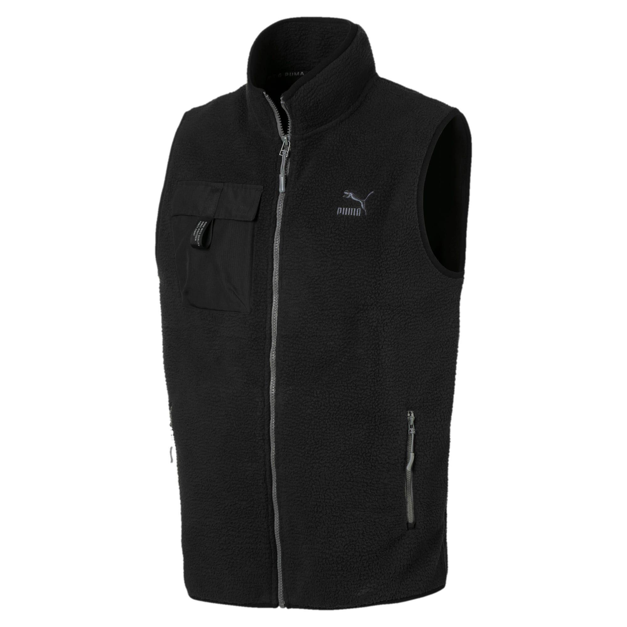 PUMA Veste en polaire XTG Trail pour Homme, Noir, Taille XL