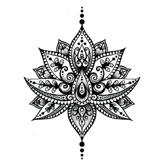 Résultat De Recherche D Images Pour Dessin De Mandala Fleur De