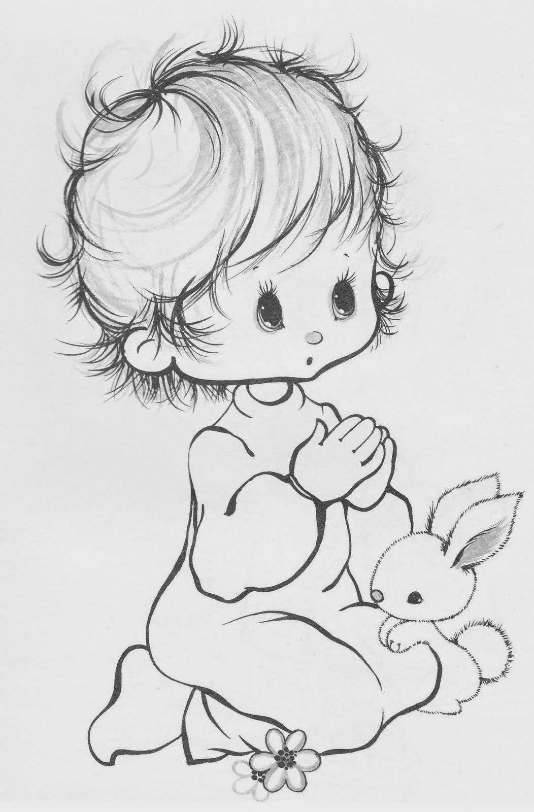 50 Desenhos De Criancas Para Colorir Pintar Preparar Atividades