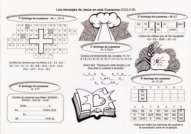 La Catequesis: Recursos Catequesis Domingos de Cuaresma 2015 Ciclo B ...