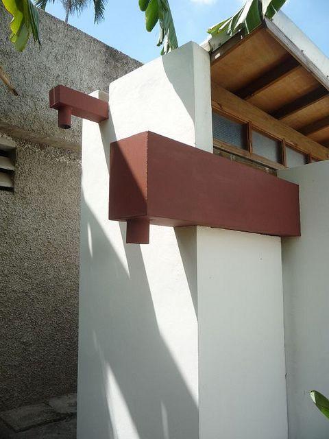 Concept House Detail Water Fountain Design Architecture Details House Design
