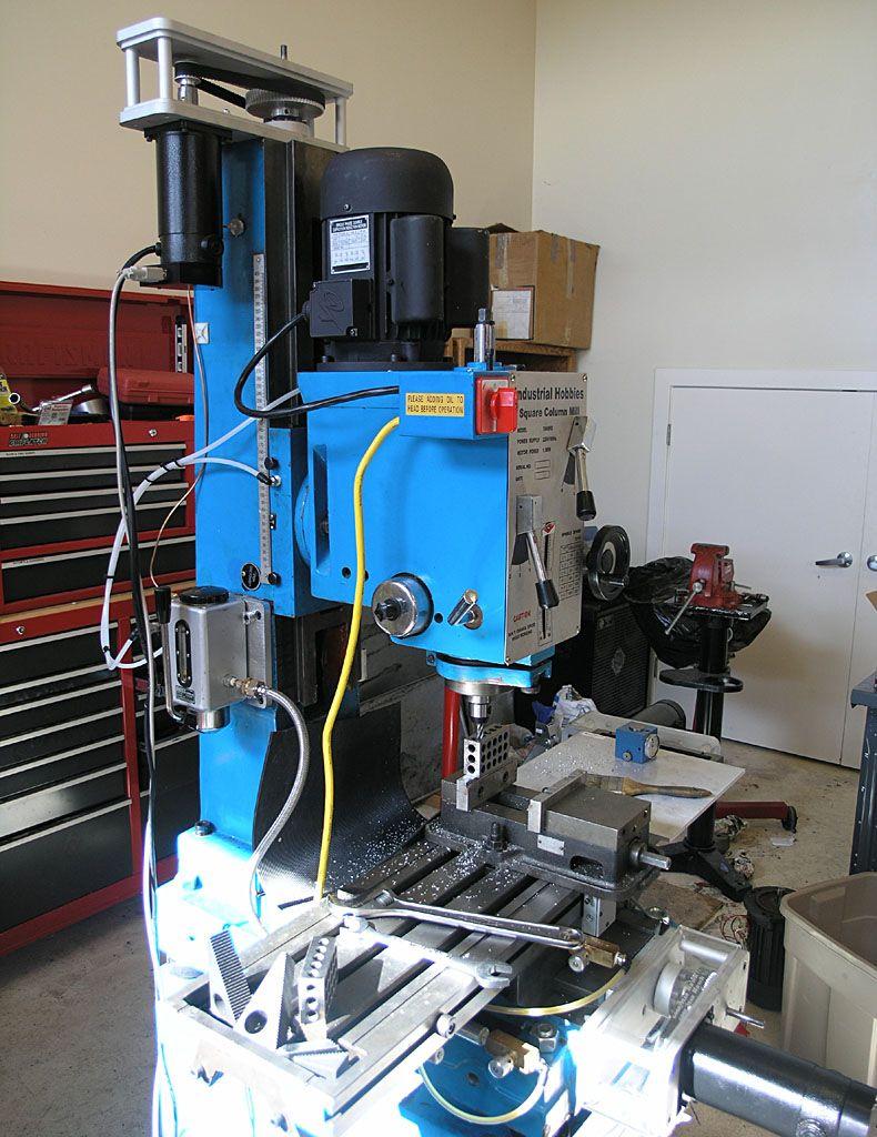 Cnc Mill Conversion Rf45 Machine Tools Cnc Milling
