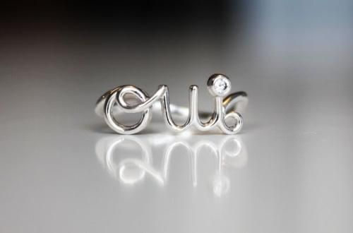 Oui... I so want this ring