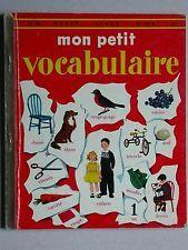 Mon petit vocabulaire - Albums roses Livre d'or + Nénuphar & Ile du Pere Noel