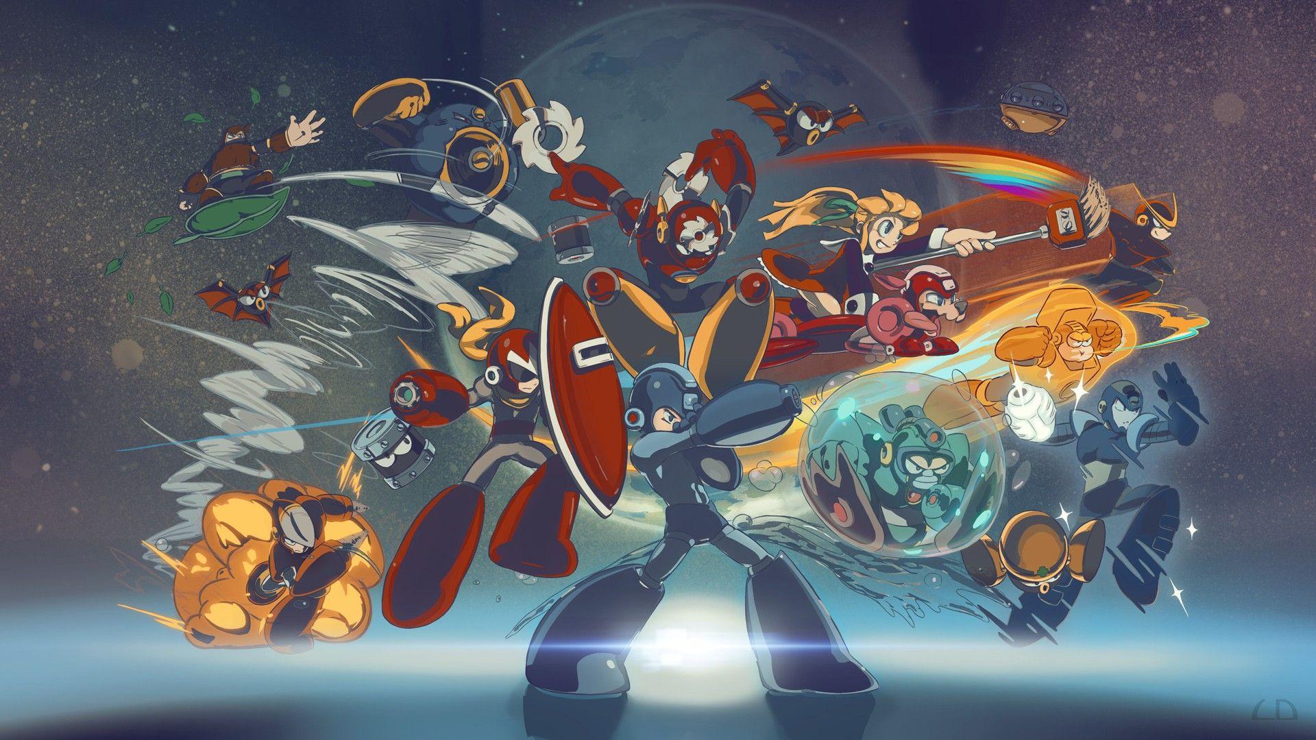 Megaman Wallpaper Hd Free Download Mega Man Art Mega Man Anime