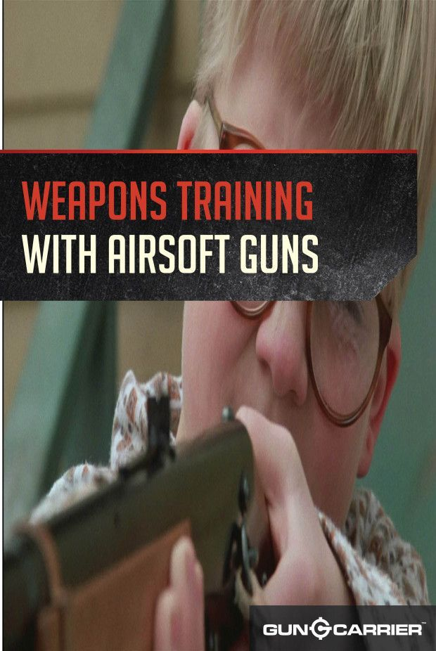 Defensive Weapon Training: The Airsoft Alternative Part I | Firearm Shooting Skills by Gun Carrier http://guncarrier.com/airsoft-alternative-part-1/